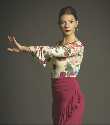maillots bodys flamenco tops for woman - - Floral Body