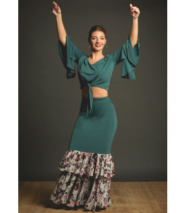 maillots bodys flamenco tops for woman - - Portento Top - Lace