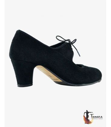 trainning flamenco shoes semiprofessional - - TAMARA High Semiprofessional - Suede Lace