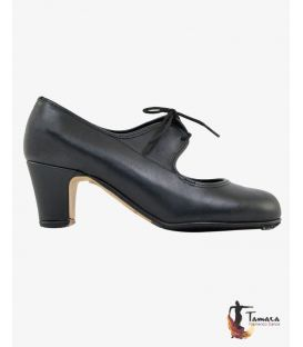 trainning flamenco shoes semiprofessional - - TAMARA High Semiprofessional - Leather LACE