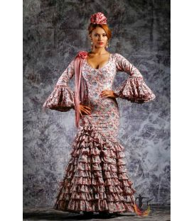 woman flamenco dresses 2019 - Roal - Flamenca dress Clavellina