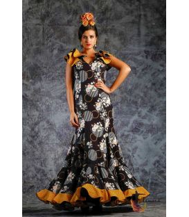 woman flamenco dresses 2019 - Roal - Flamenca dress Desidia