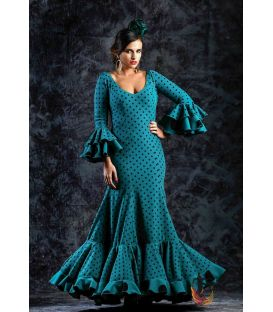 woman flamenco dresses 2019 - Roal - Flamenca dress Zafiro