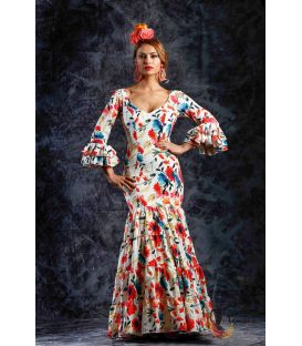 woman flamenco dresses 2019 - Roal - Flamenca dress Fresia