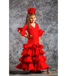 robes de flamenco 2019 pour enfant - Roal - Robe de flamenca - Estepona rouge