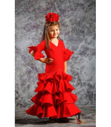 girl flamenco dresses 2019 - Roal - Flamenca dress Estepona red