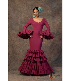 woman flamenco dresses 2019 - Aires de Feria - Flamenca dress Anochecer