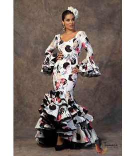 woman flamenco dresses 2019 - Aires de Feria - Flamenca dress Brisa printed