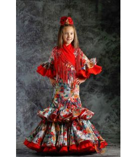 girl flamenco dresses 2019 - Roal - Flamenca dress Quema