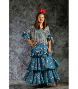 girl flamenco dresses 2019 - Roal - Flamenca dress Saeta printed