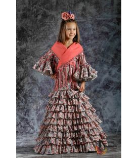 girl flamenco dresses 2019 - Roal - Flamenca dress Clavellina