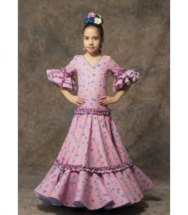 girl flamenco dresses 2019 - Aires de Feria - Flamenca dress Rosa girl