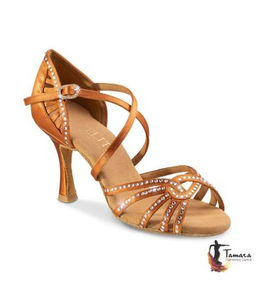 ballroom and latin shoes for woman - Rummos - Elite Eris with diamonds