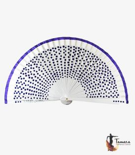 Fan (23 cm) - Fan (23 cm) - Polka-dots in custom colour