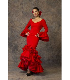 Flamenca dress Brisa Red