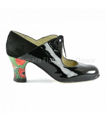 flamenco shoes professional for woman - Begoña Cervera - Flamenco shoes begoña cervera arty black patent leather
