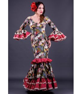 trajes de flamenca 2015 en stock envio 24h - Roal - Taille 32 - Trigal (Identique à la photo)