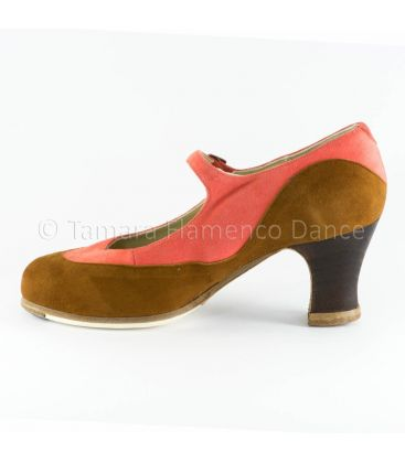 flamenco shoes professional for woman - Begoña Cervera - Binome special suede interior
