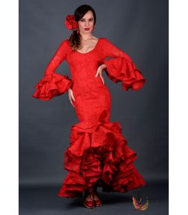 Robe de flamenca Mar