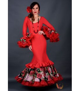 Traje de flamenca Carolina