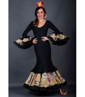 Robe de flamenca Carolina noir