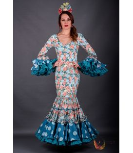 Flamenca dress Daniela flowers