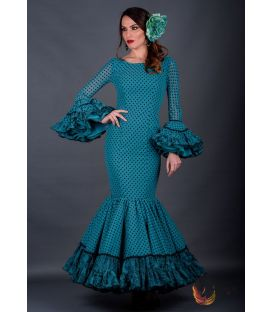 Flamenca dress Reyes polka dots