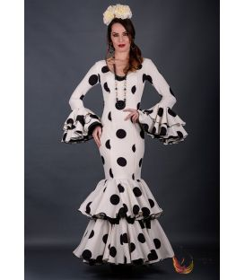 Flamenca dress Casandra polka dots