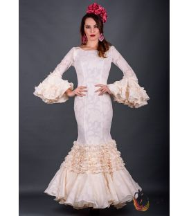 Flamenca dress Rosalia Ivory