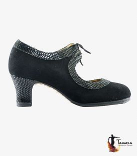 Tiento - Customizable professional flamenco shoe leather and snake