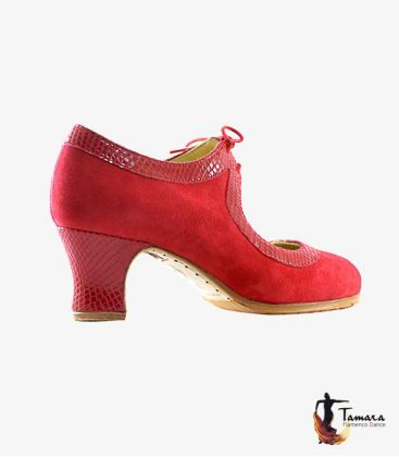 in stock flamenco shoes professionals - Tamara Flamenco - Tiento ( In Stock ) professional flamenco shoe leather and snake