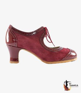Bolero - Customizable professional flamenco shoe leather and snake