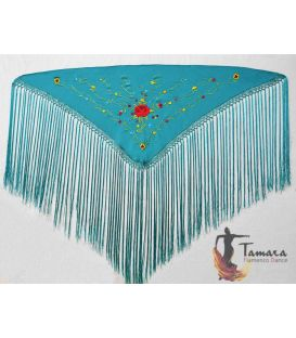 spanish shawls - - Venecia Shawl - Multicolor Embroidered