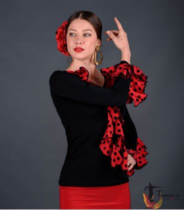 maillots bodys flamenco tops for woman - - t-shirt flamenco top