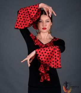 Camiseta flamenca body top flamenco