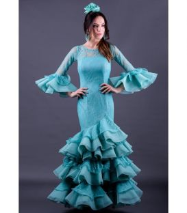 flamenco dresses in stock 24h delivery - Roal - Size 44 - Giralda (Tout ivoire)