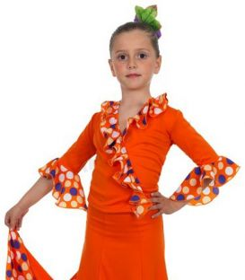 maillots bodys y tops de flamenco de nina - Top Flamenco TAMARA Flamenco - Chupita Isabel - Punto ( Escogiendo colores)