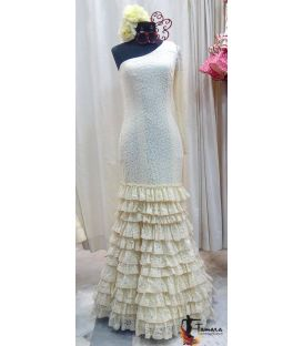 flamenco dresses in stock 24h delivery - Roal - Size 38 - Duquesa (Ivory lace )