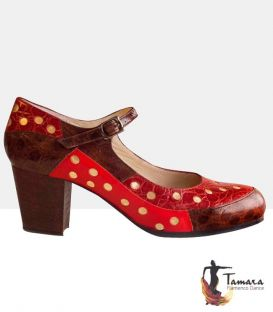 street flamenco style shoes begona cervera - Begoña Cervera - Golden Patch Street