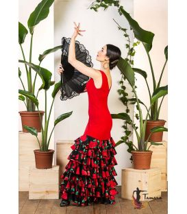 flamenco dance dresses for woman - Vestido flamenco TAMARA Flamenco - Zamora Dress - Viscose