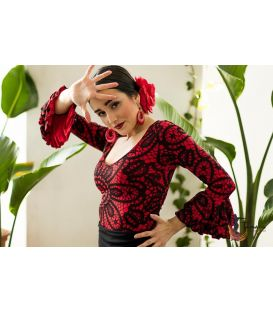 maillots bodys flamenco tops for woman - - Rania T-shirt - Elastic knitted