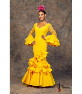 woman flamenco dresses 2019 - Aires de Feria - Flamenca dress Guapa Yellow