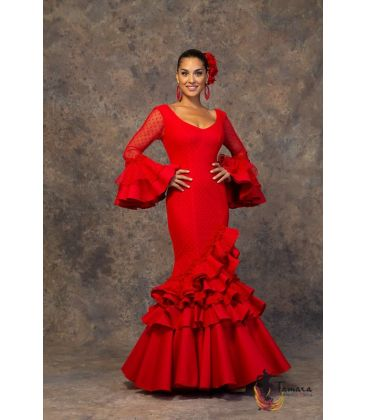 woman flamenco dresses 2019 - Aires de Feria - Flamenca dress Macarena Red