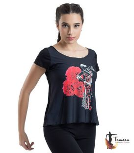 T-shirt flamenca - Desing 15 Sleeves