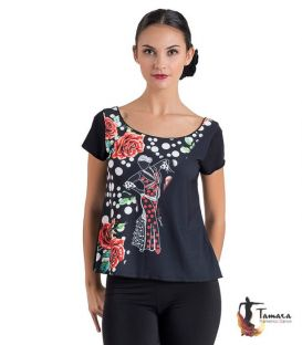 T-shirt flamenca - Desing 21 Sleeves