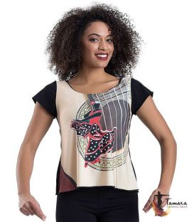 T-shirt flamenca - Desing 11 Sleeves