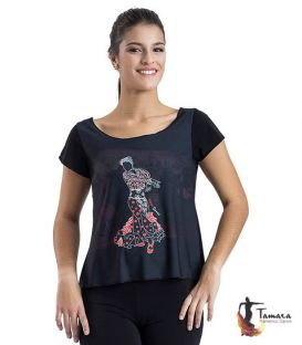 T-shirt flamenca - Desing 13 Sleeves