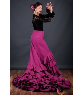 tailed gown bata de cola - Faldas de flamenco a medida / Custom flamenco skirts - Tail Gown - Professional 5 flounces