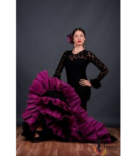 tailed gown bata de cola - Faldas de flamenco a medida / Custom flamenco skirts - Tail Gown - Professional