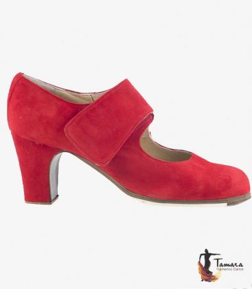 in stock flamenco shoes professionals - Begoña Cervera - Velcro Professional flamenco shoe Begoña Cervera